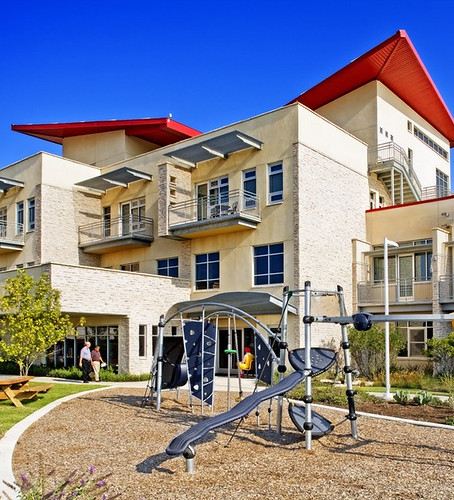 Ronald McDonald House of Central Texas outdoor playground