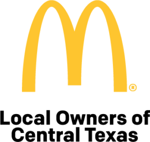 Mcdonald's logo; Local Owners of Central Texas