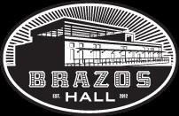 Brazos Hall Logo