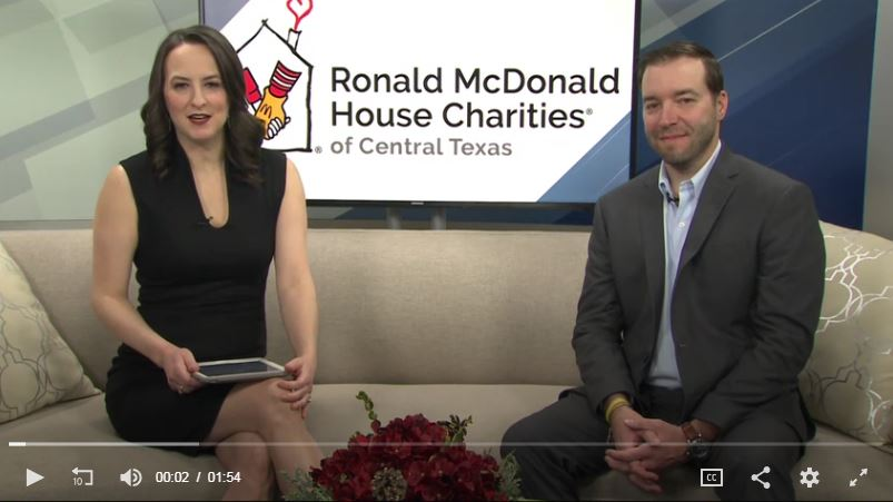 KBTX reporter interviews Tanner Williams about the upcoming Starlight Affair event in the Brazos Valley.